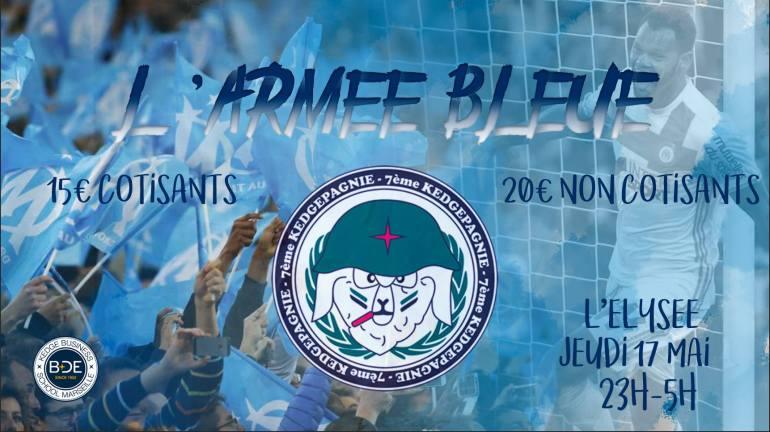 Couv Armée Bleue